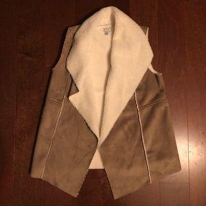 Susina Faux Shearling Vest